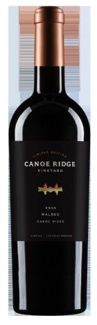 Canoe Ridge Vineyard Limited Edition Malbec Bottle Preview