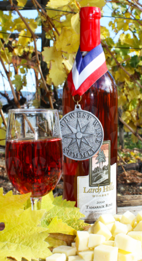 Larch Hills Vineyard and Winery Tamarack Rosé