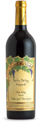 Nickel & Nickel Martin Stelling Vineyard Cabernet Sauvignon, Oakville Bottle Preview