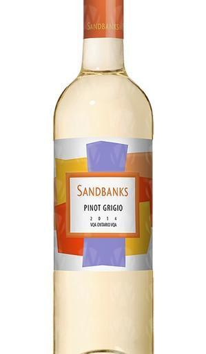 Sandbanks Estate Winery Pinot Grigio