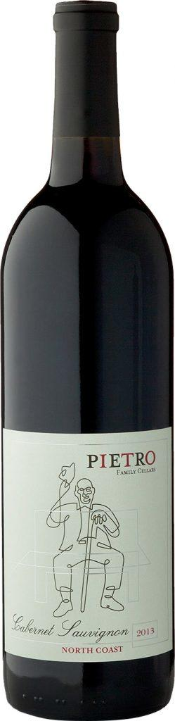 O'Connell Family Wines Pietro Family Cellars Cabernet Sauvignon, North Coast Bottle Preview