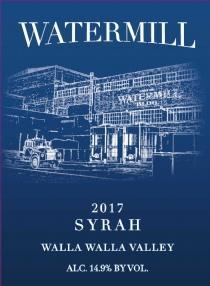 Watermill Winery Walla Walla Syrah Bottle Preview