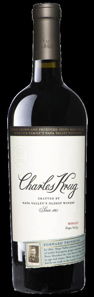 Charles Krug Napa Valley Merlot Bottle Preview