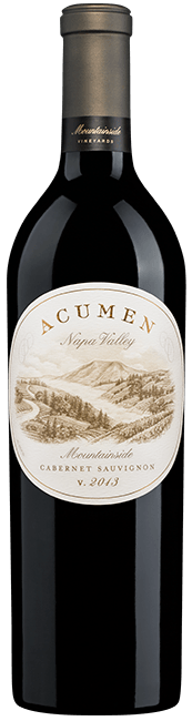 Acumen Wines Mountainside Cabernet Sauvignon Bottle Preview
