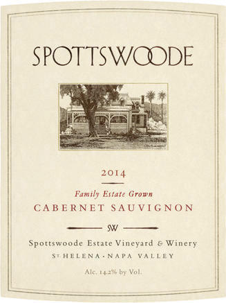 Spottswoode Estate Vineyard & Winery Spottswoode Estate Cabernet Sauvignon