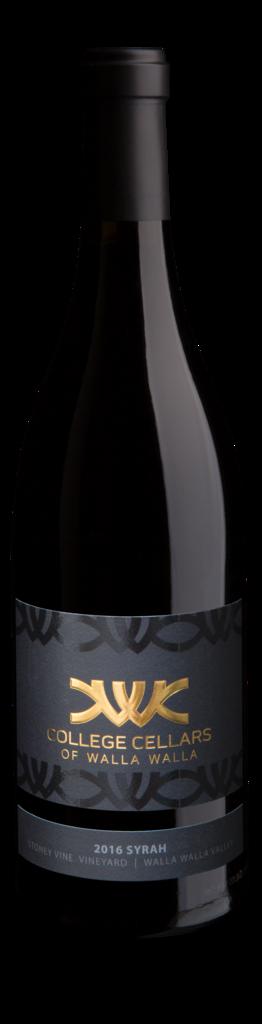 Syrah, Stoney Vine Vineyard Bottle
