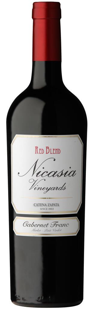 Nicasia Vineyards Red Blend Cabernet Franc Bottle