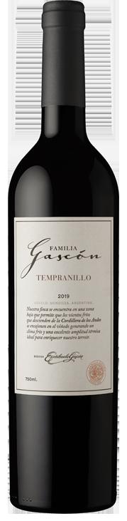 FAMILIA GASCÓN - TEMPRANILLO Bottle