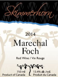 Skimmerhorn Winery & Vineyard Marechal Foch