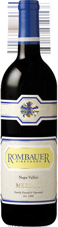 Rombauer Vineyards Napa Valley Merlot Bottle Preview