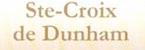Clos Ste-Croix-Dunham Logo