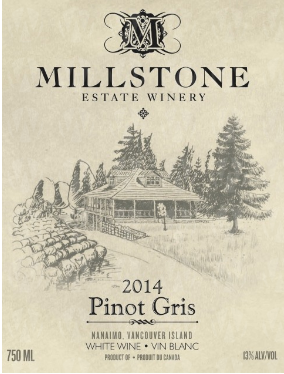 Millstone Estate Winery Pinot Gris