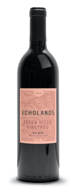 Echolands Winery Seven Hills Vineyard Red Bottle Preview
