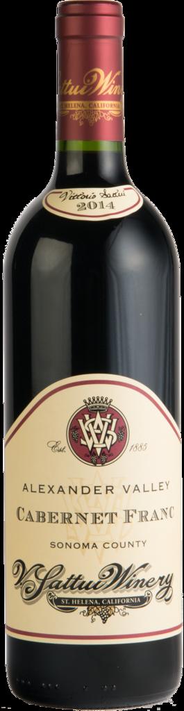 V. Sattui Winery Alexander Valley Cabernet Franc Bottle Preview