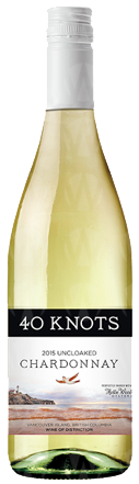 40 Knots Estate Winery Chardonnay Uncloaked