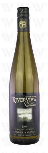 Riverview Cellars Estate Winery Angelina's Reserve Gewurztraminer