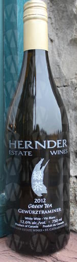 Hernder Estate Winery Green Tea Gewurztraminer