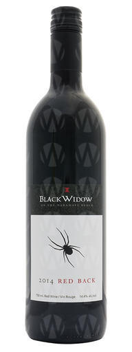 Black Widow Winery Red Back