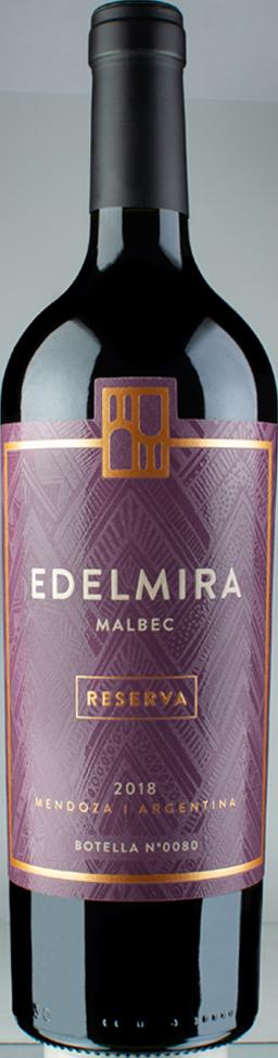 Edelmira Malbec Reserve Bottle