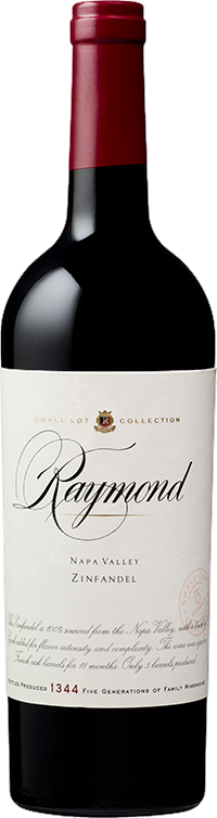 Raymond Vineyards Small Lot Collection Zinfandel Bottle Preview