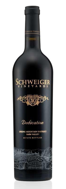 Schweiger Vineyards Dedication Bottle Preview