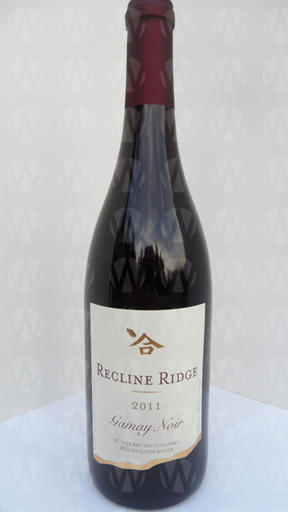 Recline Ridge Vineyards and Winery Gamay Noir