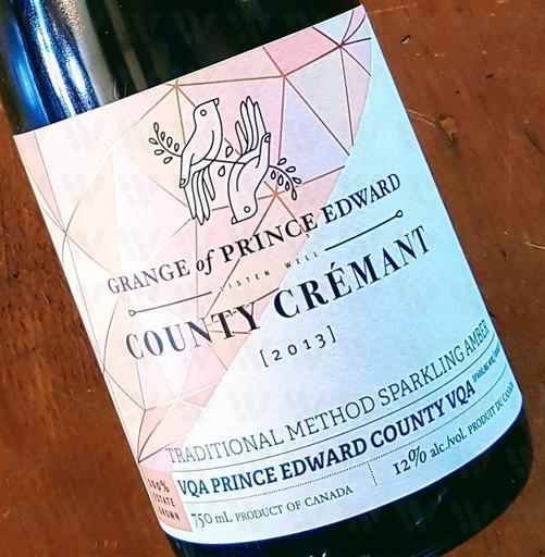 The Grange of Prince Edward Vineyards and Estate Winery Country Crémant 'Amber'