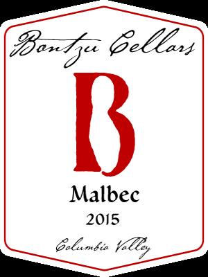 Bontzu Cellars Malbec Bottle Preview