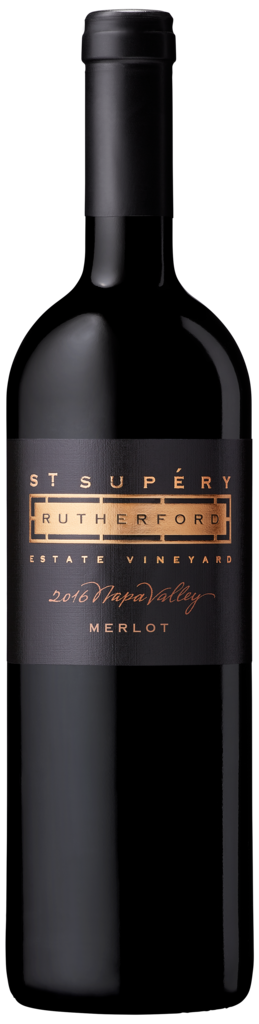 St. Supéry Estate Vineyards and Winery Napa Valley, Rutherford Estate Vineyard Merlot Bottle Preview