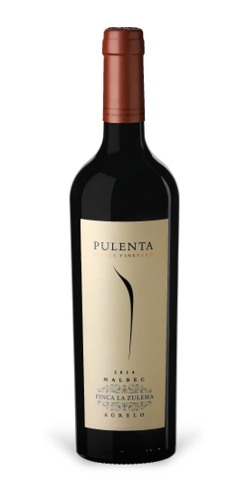Pulenta Estate Malbec Finca La Zulema Bottle Preview