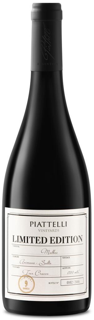 Piattelli Vineyards - Salta Limited Edition Malbec Bottle Preview