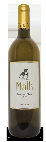 Malk Family Vineyards Sauvignon Blanc Bottle Preview