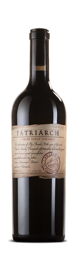Frank Family Vineyards Patriarch Bottle Preview