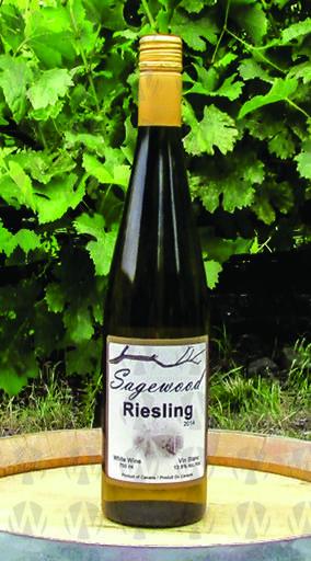 Sagewood Winery Riesling