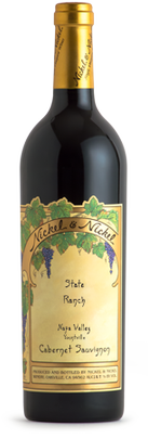 Nickel & Nickel State Ranch Cabernet Sauvignon, Yountville Bottle Preview