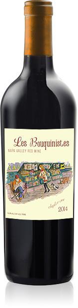 Coup De Foudre Winery LES BOUQUINISTES Bottle Preview