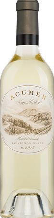 Acumen Wines MOUNTAINSIDE SAUVIGNON BLANC Bottle Preview