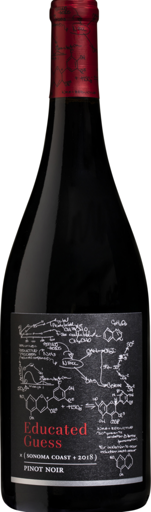 Roots Run Deep Winery Educated Guess Sonoma Coast Pinot Noir Bottle Preview