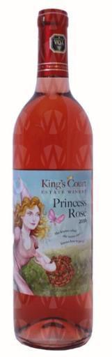 King's Court Estate Winery Princess Rosé