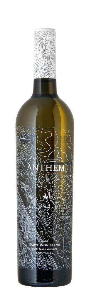 Anthem Winery Sauvignon Blanc Carsi Ranch Vineyard Napa Valley Bottle Preview