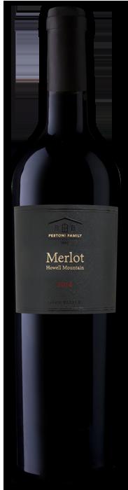 Howell Mountain Estate Merlot Bottle
