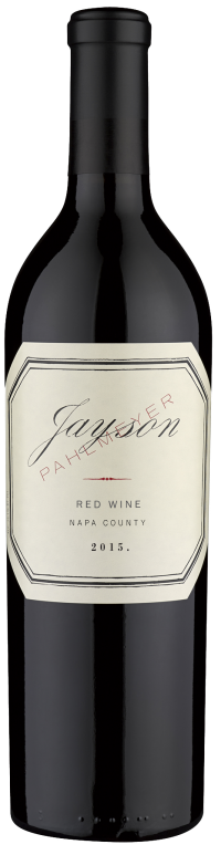 Pahlmeyer Jayson Red Bottle Preview