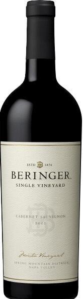 Beringer Vineyards Beringer Marston Vineyard Cabernet Sauvignon Napa Valley Bottle Preview