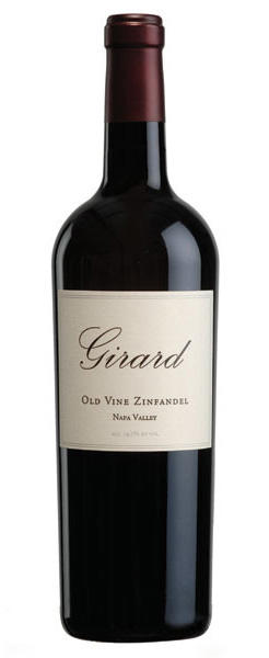 Girard Winery Old Vine Zinfandel Napa Valley Bottle Preview