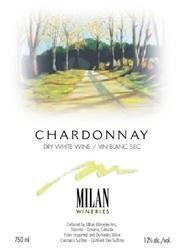 Milan Wineries Chardonnay Dry White