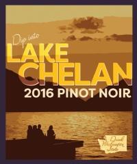Eternal Wines & Drink Washington State Drink Washington State Dip in Lake Chelan Pinot Noir Bottle Preview