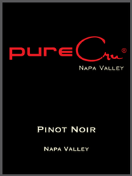pureCru Wines PInot Noir Bottle Preview