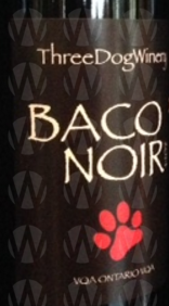 Three Dog Winery Baco Noir