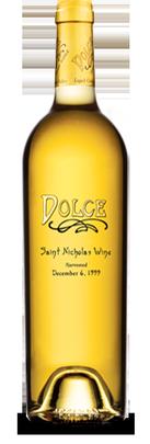 Bella Union Winery Dolce Saint Nicholas, Napa Valley Bottle Preview