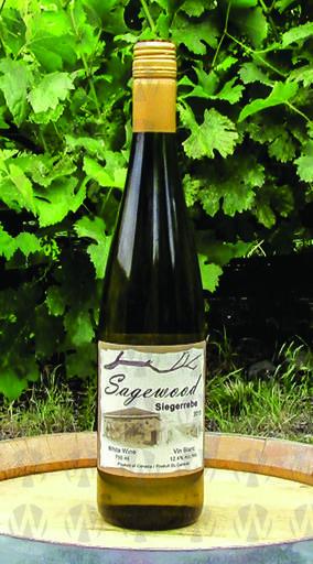 Sagewood Winery Siegerrebe